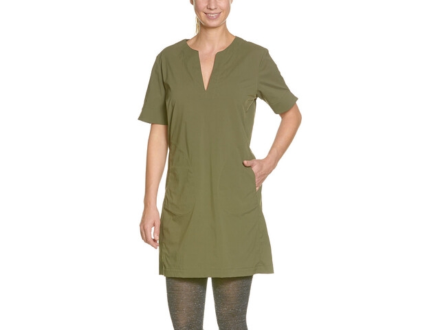 Tatonka Gora Jurk Dames, bark green